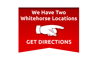 We Have Two Whitehorse Locations - Get Directions
