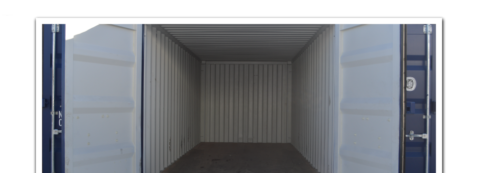 Inside of Container | Low Cost Mini Storage: Convenient Storage Facilities in Whitehorse